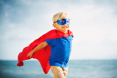 Imagination : Super Hero Kid